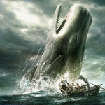 Самый знаменитый кит, Моби Дик, кашалот нападает